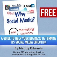 "Get your FREE copy of ""Why Social Media?""!  http://memarketingservices.misytedev.com/free-offer/"