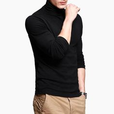 New 2017 Sping Fashion Mens Casual T-Shirts Long Sleeve Brand Clothing Man Slim Fit Clothes Male Wear Tops Tees Plus Size XXXL