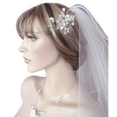 fantastischer Design Haarschmuck zur Hochzeit