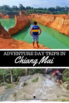 Staying in Chiang Mai for a while? Fancy a trip out from the city centre?  Rent a motorcycle & head out on some adventures to the crazy Sticky Waterfalls & the beautiful Grand Canyon!