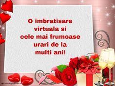 Felicitari de la multi ani - Pagina 16 - mesajeurarifelicitari.com Happy Birthday, Bible, Happy Aniversary, Happy B Day, Happy Birth Day