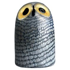 Mouth-blown owl figurine designed by Oiva Toikka. Product: Owl figurine    Construction Material: Glass-I just like this guy     ...