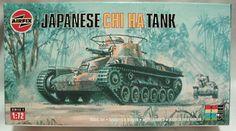 Airfix 'Japanese Chi Ha Tank'