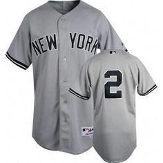 6b62702f7 Derek Jeter Authentic New York Yankees Road Jersey