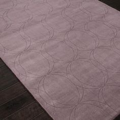 How perfect is the shade of purple in this Japiur rug? Purple Area Rugs, Color Of The Year, Shades Of Purple, Pantone, Tile Floor, Home Decor, Decoration Home, Room Decor, Tile Flooring
