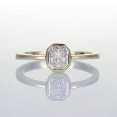 pretty diamond promise ring
