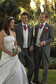 Light Grey Morning Suit - http://www.groomswear.co.uk/wp-content/uploads/2010/07/greytails1.jpg