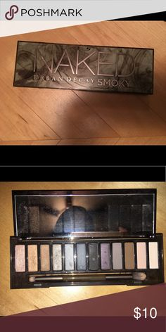 Urban Decay Naked Smoky Eyeshadow Palette Only used about three times. All colors are the full pan, gently used. No dents or anything wrong with package or shadows. I have too many palettes and need to get rid of some! All reasonable offers accepted! Urban Decay Makeup Eyeshadow