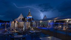 This is probably the simplest post of all here, it's just this one image. But hey! Originally I've planed to take some night shots of the City Tower Members Club new decoration. I didn't mind the cloudy weather at that time. As soon as I was installed, the storm arrived. Capturing lightning requires somewhat different…
