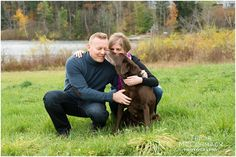 Fall Kemble Inn Engagement Session With Dog - Tricia McCormack Photography