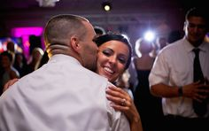 Just another happy client enjoying her wedding! I loved this picture so much I made it part of our new brochures! #wedding #pros #hudsonvalley #bestdjs
