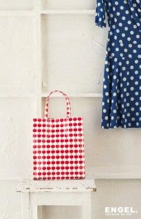 Red Apple large shopper - rode appel tas| ENGEL. celebrate for life  photography: StyleCookie