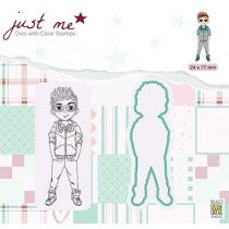 Just Me, Clear Stamps, Boys, Design, Baby Boys, Senior Boys, Sons, Guys