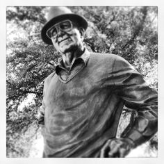 Byron Nelson statue at #HPBNC #ShareVZ Famous Golfers, Byron Nelson, Jack Nicklaus, Make More Money, Statue, Sports, Events, Game, Board