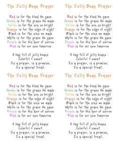 Faith, Trust, and Pixie Dust: The Jelly Bean Prayer