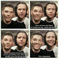 Jared and Jensen xD #J2