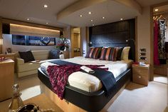 From Bedspreads to Curtains, Romanblinds to Cushions ✅ Enjoy the comforts of home while away, ✅ with Dometic's Soft Furnishings Sunseeker Yachts, Yacht Week, Mobile Living, Private Yacht, Yacht Interior, Soft Furnishings, Luxury Travel, Bed Spreads, Luxury Lifestyle