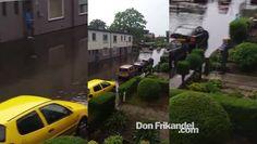 Noodweer in Nederland: Enschede, Hogeland