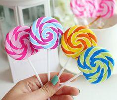 1pcs Novelty stationery lollipop eraser/rubber super by JnMstudio, $4.00