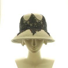 Felt Cloche Hat for Women  Vintage Style Hat  by TheMillineryShop, $260.00