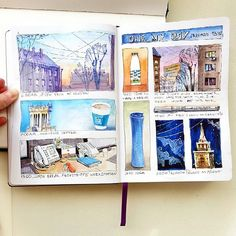 A day in the life of @mysquiggles and her #Leuchtturm1917 #sketchbook! Every little detail of your day can become something inspirational! #dayinthelife