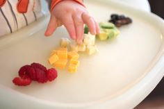 Rainbow Food for toddlers