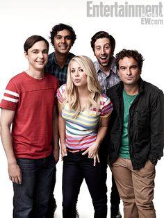 Big Bang Theory': EW Cast Portraits, September 2012 ~ #ewportraits #ewphotoshoots