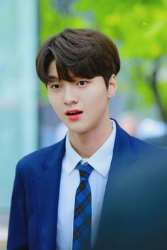 #프로듀스X101 #울림 #차준호 #ChaJunho #ProduceX101 Cute Korean Boys, Woollim Entertainment, Junho, Produce 101, This Is Us, Wattpad, Instagram, Kpop, Mens Fashion