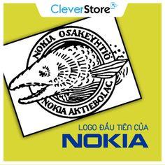 Logo đầu tiên của Nokia