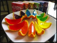 Jello Shot Wedges