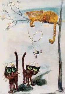 рисунки с котами: 14 тыс изображений найдено в Яндекс.Картинках