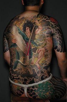 japanese yakuza | Yakuza Japanese Tattoo Style