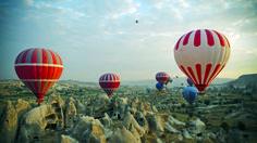 Kuumailmapalloilua ja patikointia Turkin Kappadokiassa.  #Cappadocia #Kapadokya #Turkki #Kappadokia #patikointi #aurinkomatkat