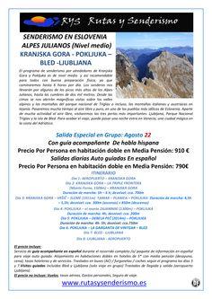 Senderismo en Eslovenia Alpes Julianos (Nivel medio) ultimo minuto - http://zocotours.com/senderismo-en-eslovenia-alpes-julianos-nivel-medio-ultimo-minuto/