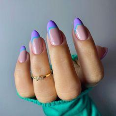 Chic Nails, Stylish Nails, Trendy Nails, Rose Nails, Oval Nails, Nagellack Trends, Minimalist Nails, Nagel Gel, Best Acrylic Nails