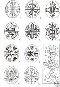 pysanky patterns - Google Search