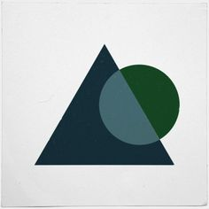 #88 Eclipse – A new minimal geometric composition each day
