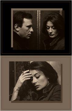 UN HOMME ET UNE FEMME .• Dir: Claude Lelouch . 1966