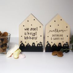 Adult Crafts, Diy And Crafts, Crafts For Kids, Christmas And New Year, Xmas, Silhouette Cameo Projects, Woodworking Projects, December, Place Card Holders