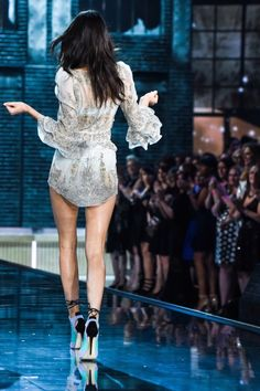 Kendall Jenner on the Victoria's Secret Runway 2015