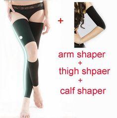 3pcs set Women Slimming Arm, Thighs and Legs Shapewear