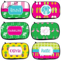 Monogrammed Makeup Bag Personalized Makeup by SassySouthernGals
