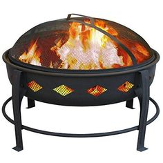 Landmann USA Bromley Fire Pit Black >>> More info could be found at the image url.