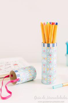 Estuche portátil para tus lápices y marcadores