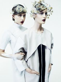 SENSE WARE - Cool Chic Style Fashion : Editorial | white | PULP #7 spring 2013