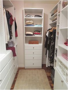 small closet ideas awesome for him and her closet pinterest small closets organizations and organizing - Small Walk In Closet Design Ideas