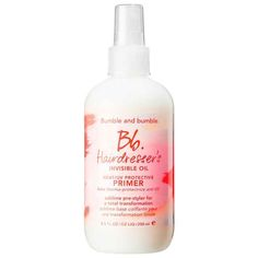 Bumble and Bumble Hairdresser's Invisible Oil Primer, $28, available at Sephora