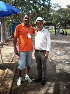 JE & M Eventos Esportivos: Valter Ferreira Mariano Presidente da ARAE ao lado...