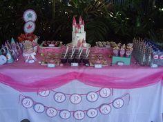 Princess Party Table by Taste of Luxury, via Flickr