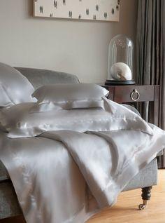 Bedding Ideas. Silk Bedding #Bedding